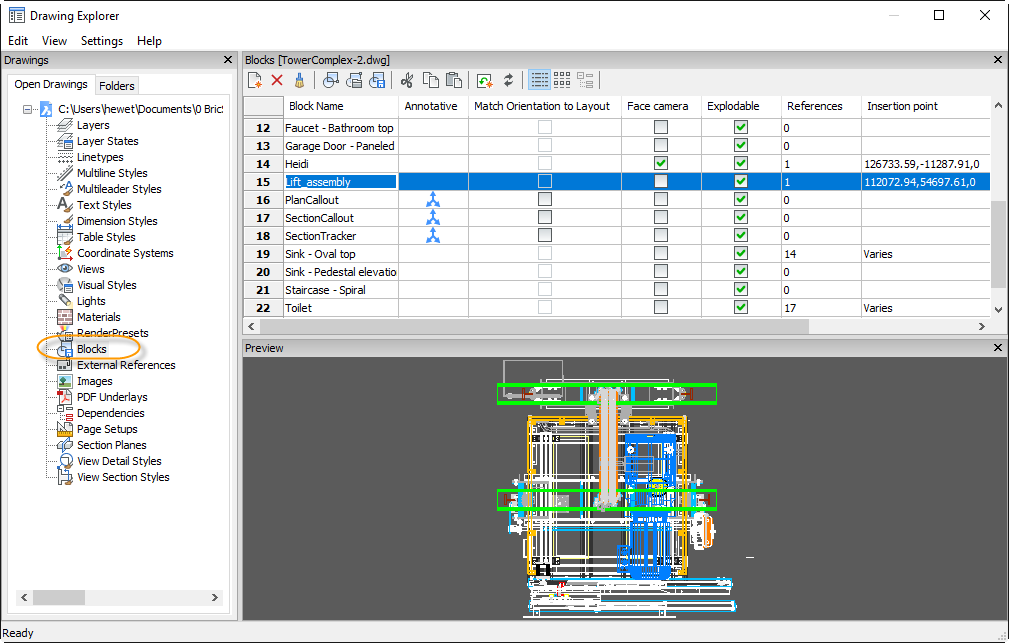 Working with Blocks – BricsCAD Help Center