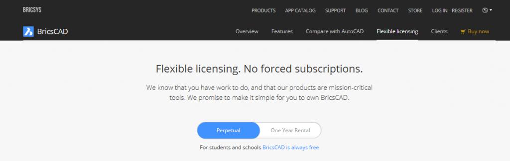 License Options – BricsCAD Help Center