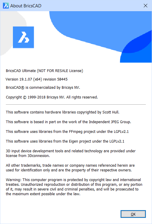 About – BricsCAD Help Center